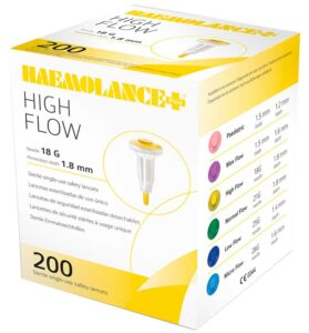 Ланцеты Haemolance Plus
