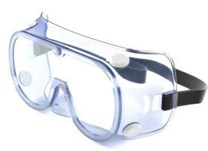 Очки защитные закрытые одноразовые HMX-01