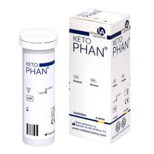 Тест полоски КетоФАН (KetoPhan) для анализа мочи